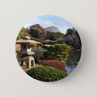 Zengarten in Tokyo, Japan Runder Button 5,1 Cm
