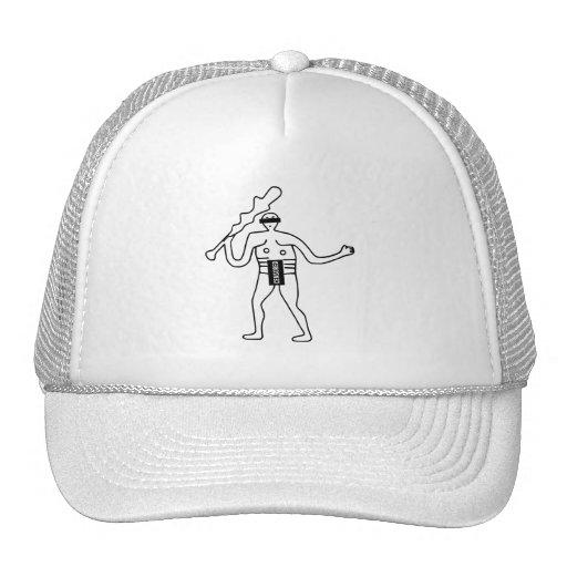 Zensierter Cerne Abbas Riese Trucker Caps