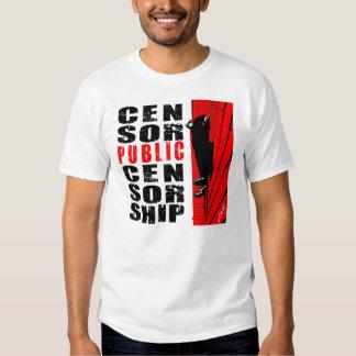 Zensor-Öffentlichkeits-Zensur Hemden