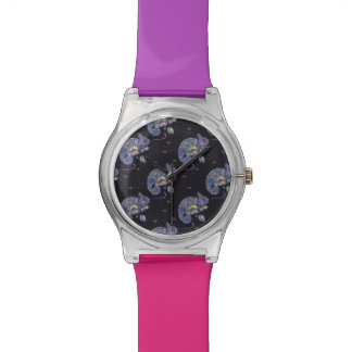Zentangle Eidechse Armbanduhr