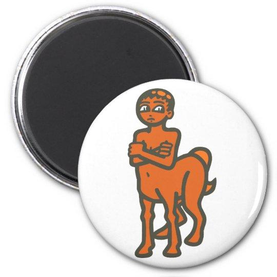 Zentaur centaur runder magnet 5,7 cm
