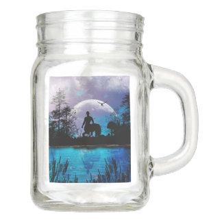 Zentaur-Silhouette Einmachglas