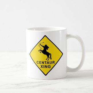 Zentaur-Überfahrt - Zeichen Kaffeetasse