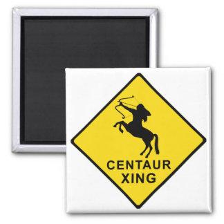 Zentaur-Überfahrt - Zeichen Quadratischer Magnet