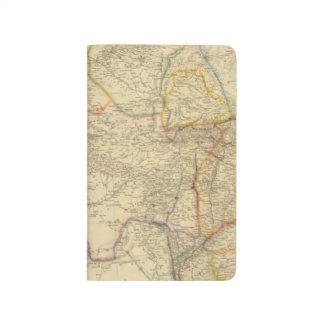 Zentralasien 2 taschennotizbuch