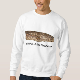 Zentrale asiatische Sand-Boa-grundlegendes Sweatshirt