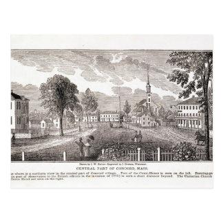 Zentrale der Übereinstimmung, von 'historischem Postkarte