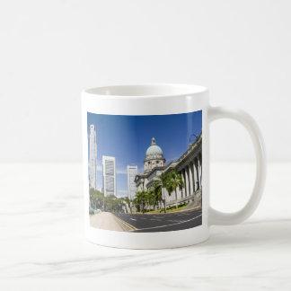 Zentraler Bezirk von Singapur Kaffeetasse