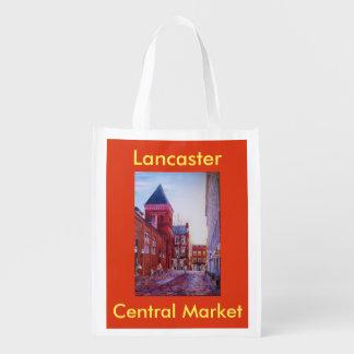 Zentraler Markt-wiederverwendbare Einkaufstüte Tragetaschen