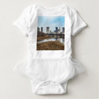 Zentrales Geschäftsgebiet Columbus, Ohio Baby Strampler