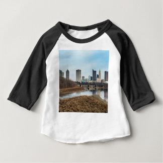 Zentrales Geschäftsgebiet Columbus, Ohio Baby T-shirt
