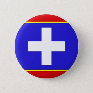zentrales Griechenland-Flaggenland-Regionssymbol Runder Button 5,1 Cm