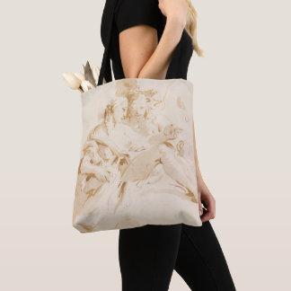 Zephyr und Flora Tasche