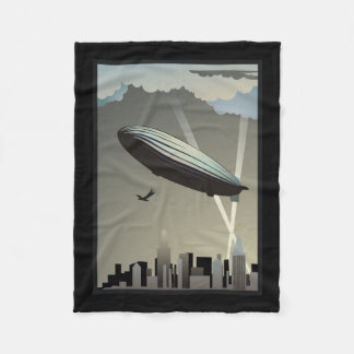 Zeppelinskyline-Fleece-Decke Fleecedecke