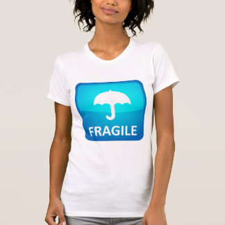 Zerbrechlich. Griff sorgfältig! T-Shirt