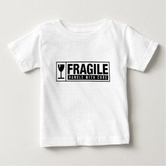 Zerbrechlicher Griff sorgfältig Baby T-shirt
