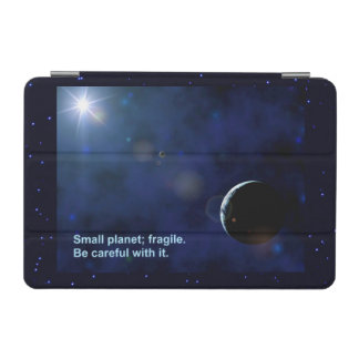 Zerbrechlicher Planet iPad Mini Hülle