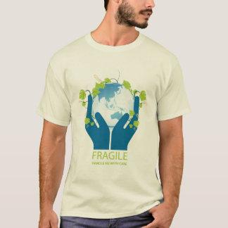 Zerbrechliches Earth-01 T-Shirt