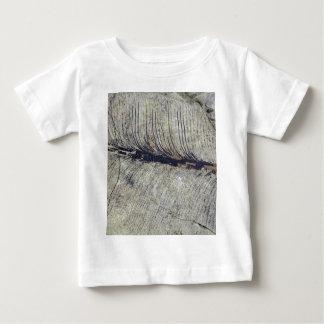 Zerbrechliches versteinertes Pflanzen-Blatt Baby T-shirt
