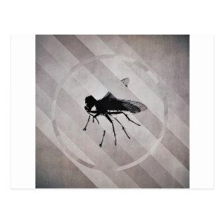 Zerbrochene Fliege Postkarte