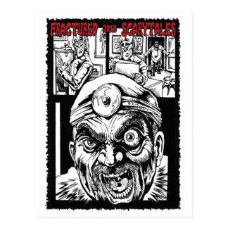 Zerbrochene Scarytales Kunstkarte #2 Postkarte