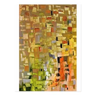 Zerbrochenes Mosaik Postkarte