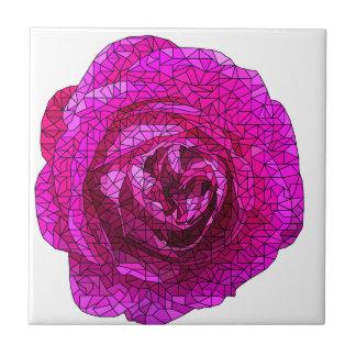 Zerbrochenes Rosen-Rosa Fliese