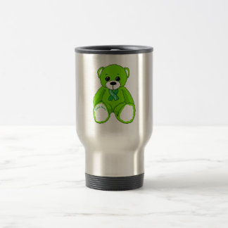 Zerebrale Lähmungs-Bewusstseins-Teddybär-Produkte Reisebecher