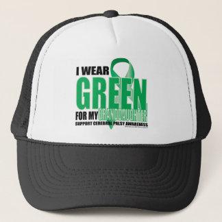 Zerebrale Lähmungs-Grün für Enkelin Truckerkappe