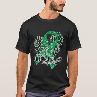 Zerebrale Lähmungs-Liebe-Hoffnungs-Vogel T-Shirt