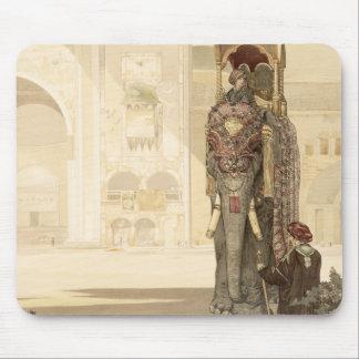 """Zeremonieller Elefant, """"vom Dschungel-Buch"""" durch  Mousepads"""