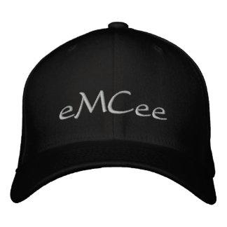 Zeremonienmeister schwarzer Hut Besticktes Baseballcap