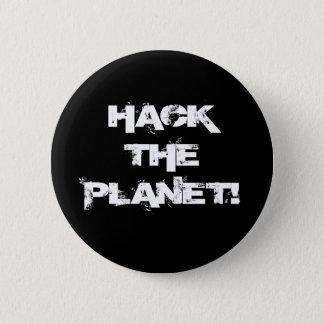 Zerhacken Sie den Planetenknopf Runder Button 5,7 Cm