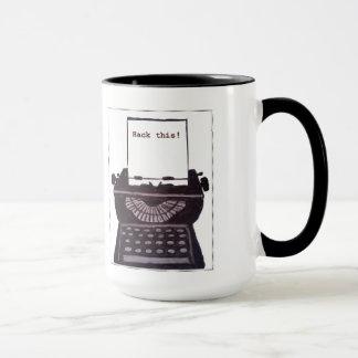 Zerhacken Sie dieses! Kaffee-Tasse Tasse