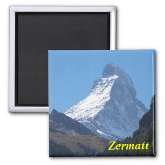 Zermatt Magnet Quadratischer Magnet