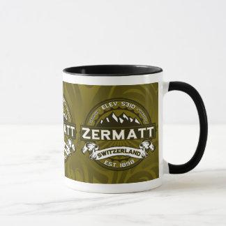 Zermatt Olive Tasse