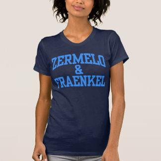 Zermelo u. Fraenkel für Frauen T-Shirt