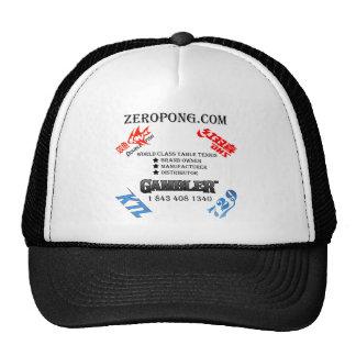 Zeropong Personal-Hut Trucker Caps