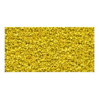 zerquetschtes Gold Foto Karten