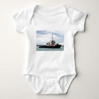 Zerren Sie Boot 2, Hafen Adelaide, Südaustralien Baby Strampler