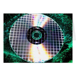 Zerrissene Disco-Galaxie CD Karte