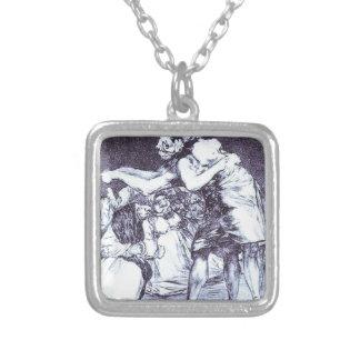 Zerrüttet durch Francisco Goya Versilberte Kette