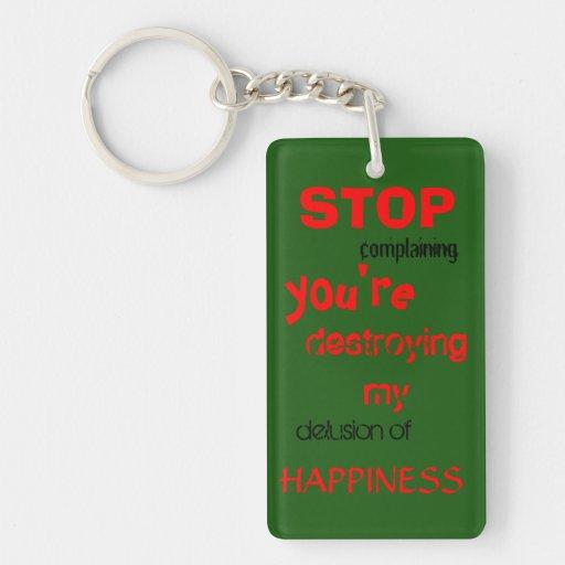 zerstörendes Glück keychain Schlüsselanhängern