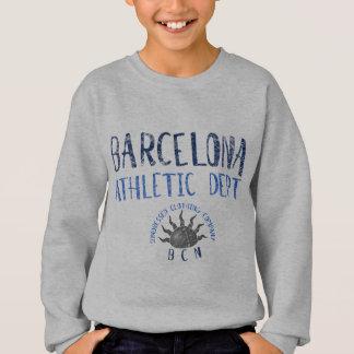 Zerstörtes Licht Barcelonas athletische Abteilung Sweatshirt
