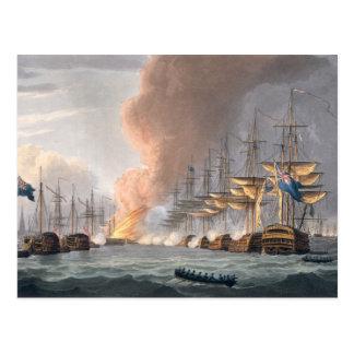 Zerstörung der dänischen Flotte vor Kopenhagen, Postkarte