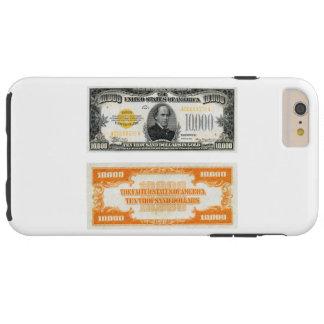 Zertifikat-Banknote 1934 des Gold$10.000 Tough iPhone 6 Plus Hülle