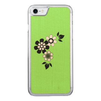 Zesty Limone Schlüsselfarbe Carved iPhone 8/7 Hülle