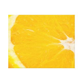 Zesty Orange Leinwanddruck