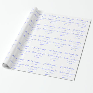 Zetaversary Geschenkpapier