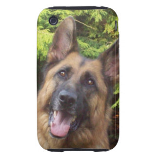 Zeus der Schäferhund Tough iPhone 3 Cover